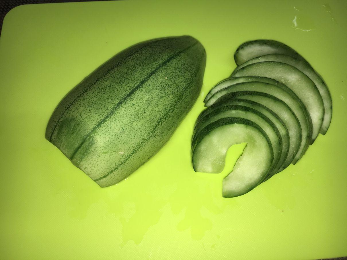 瓜の漬物1